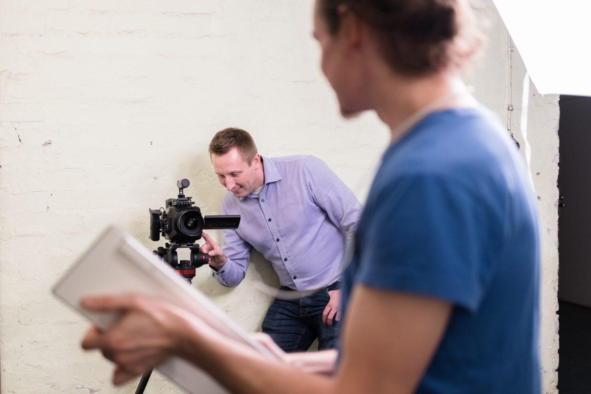 Cinemagraafi-henkilöstökuvat FlyAR:lle / SuperOt